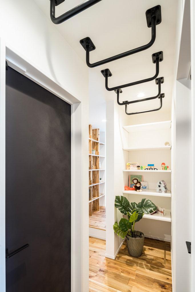 建築家 森下博視ギャラリー【雲梯コーナーでお家時間を楽しめる空間】